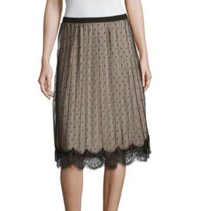 🆕Lace Polka Dot Worthington Skirt